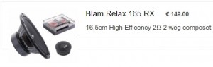 Blam relax compo RX