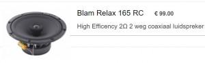 Blam relax Coax