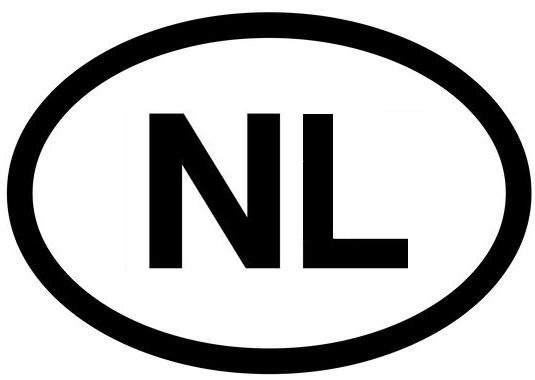 witte kentekenplaat verplicht nl-sticker
